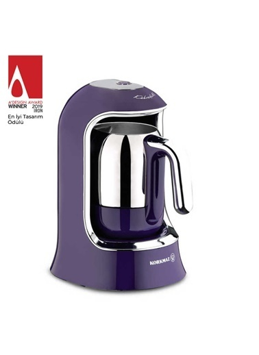 Korkmaz Kahvekolik Lavanta Otomatik Kahve Makinesi Mor